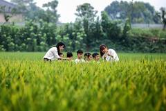 Event held ahead of farmers' harvest festival in Zhejiang
