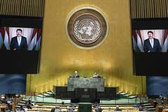 General Debate of UN General Assembly enters second day
